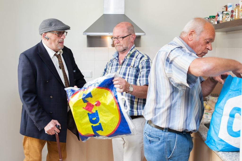 verhuisfamilie - vrijwilligers