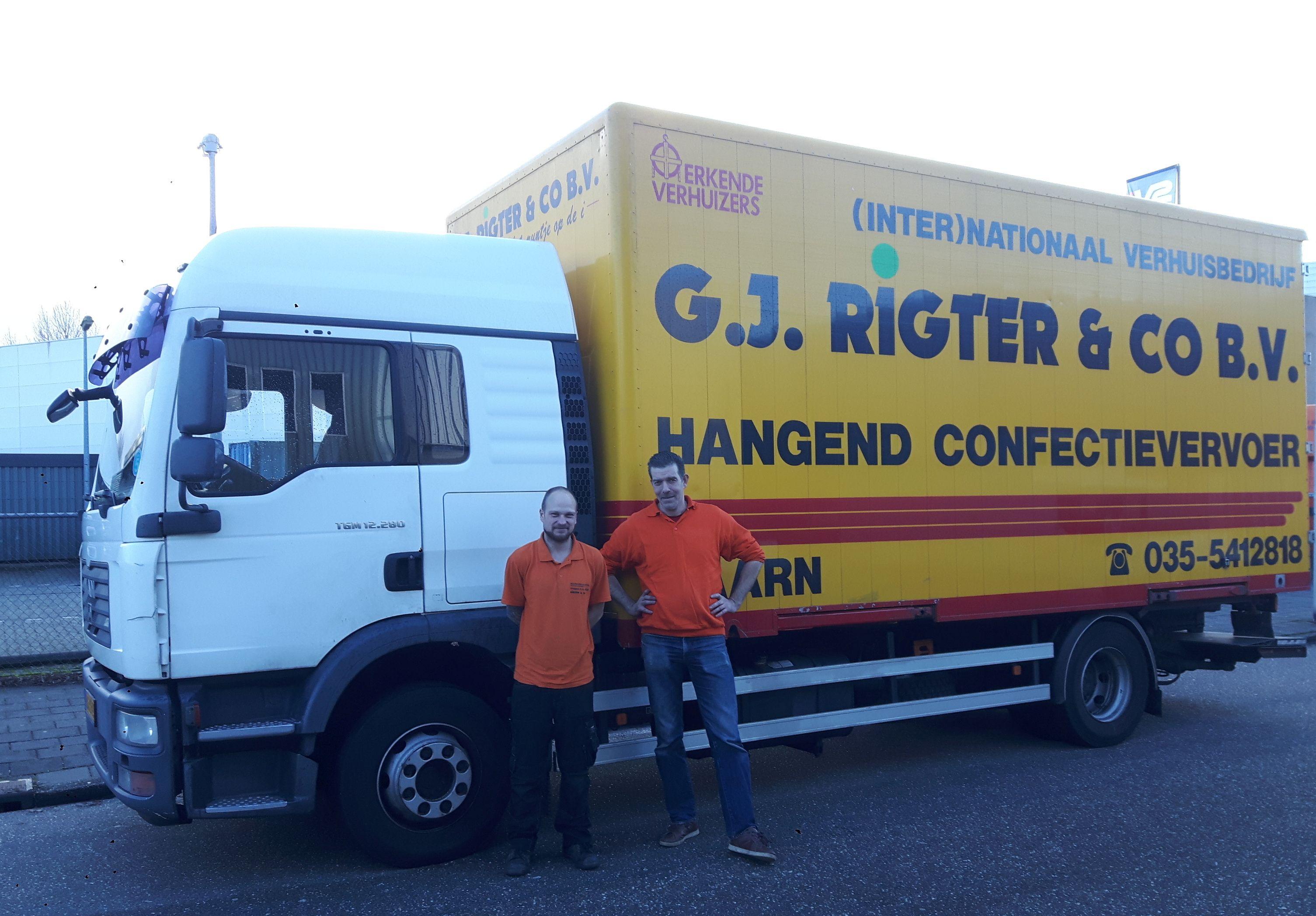 Verhuisbedrijf G.J. Rigter & Co zet zich in voor De Verhuisfamilie