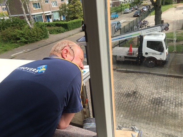 Dijkshoorn Euromovers actief in Vlaardingen
