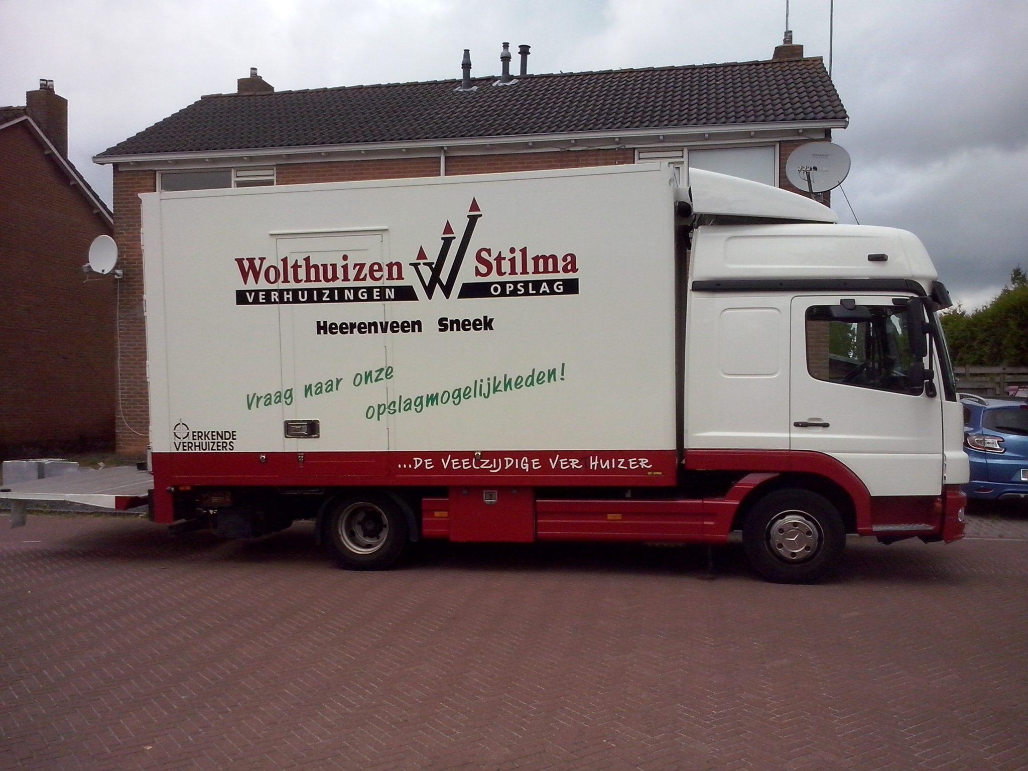 verhuisbedrijf Wolthuizen Stilma De Vries