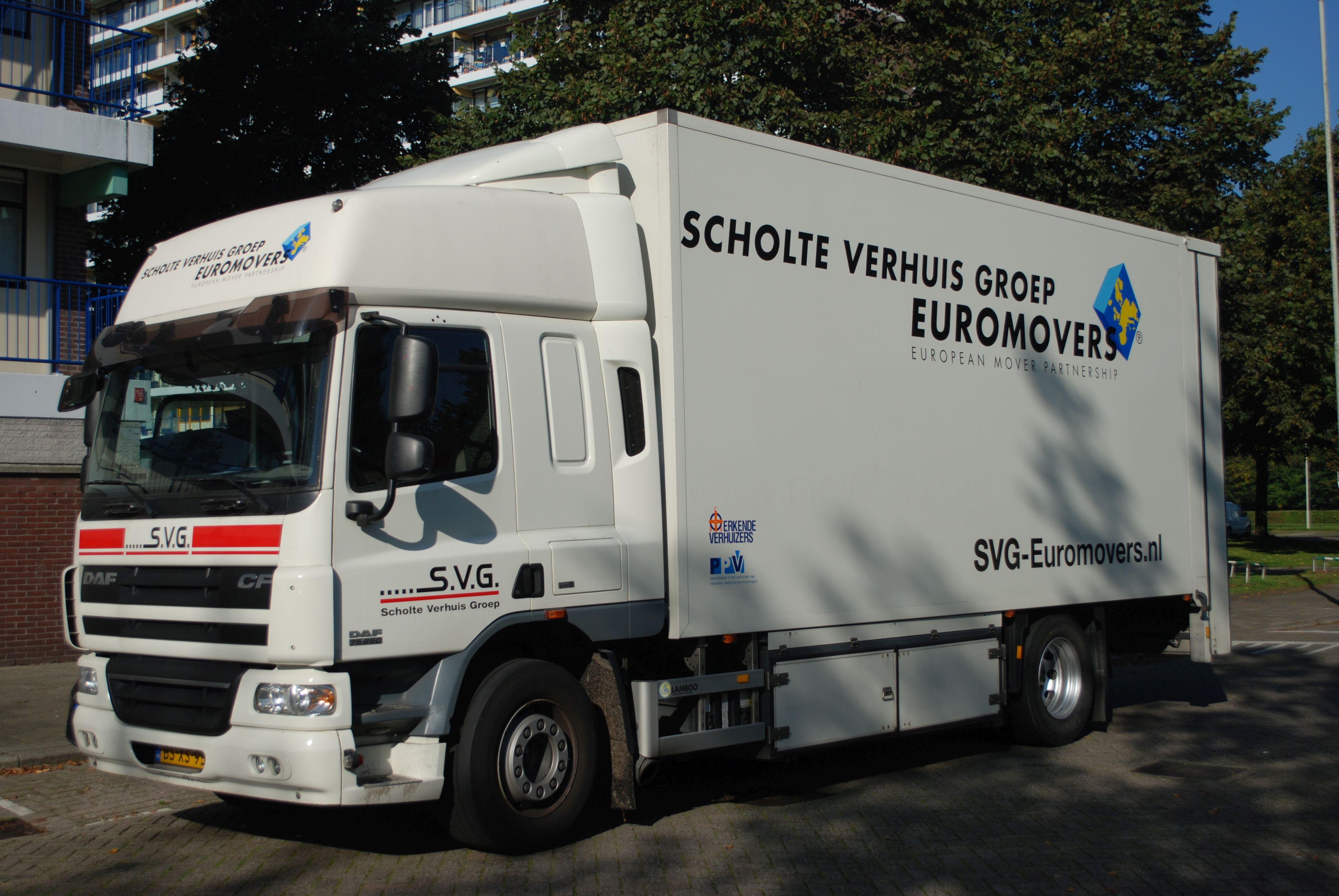 Scholte Verhuis Groep Euromovers steunt stichting De Verhuisfamilie