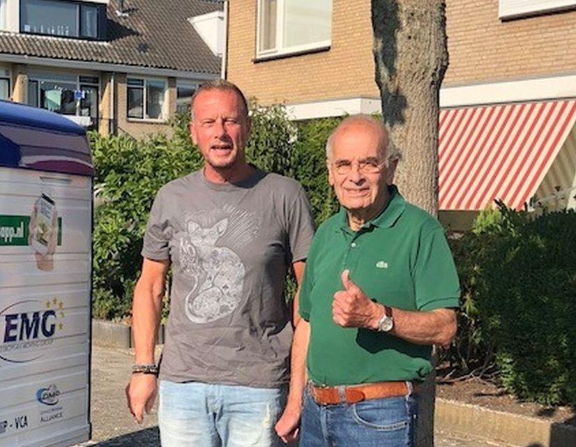 Stichting De Verhuisfamilie in actie in Sliedrecht